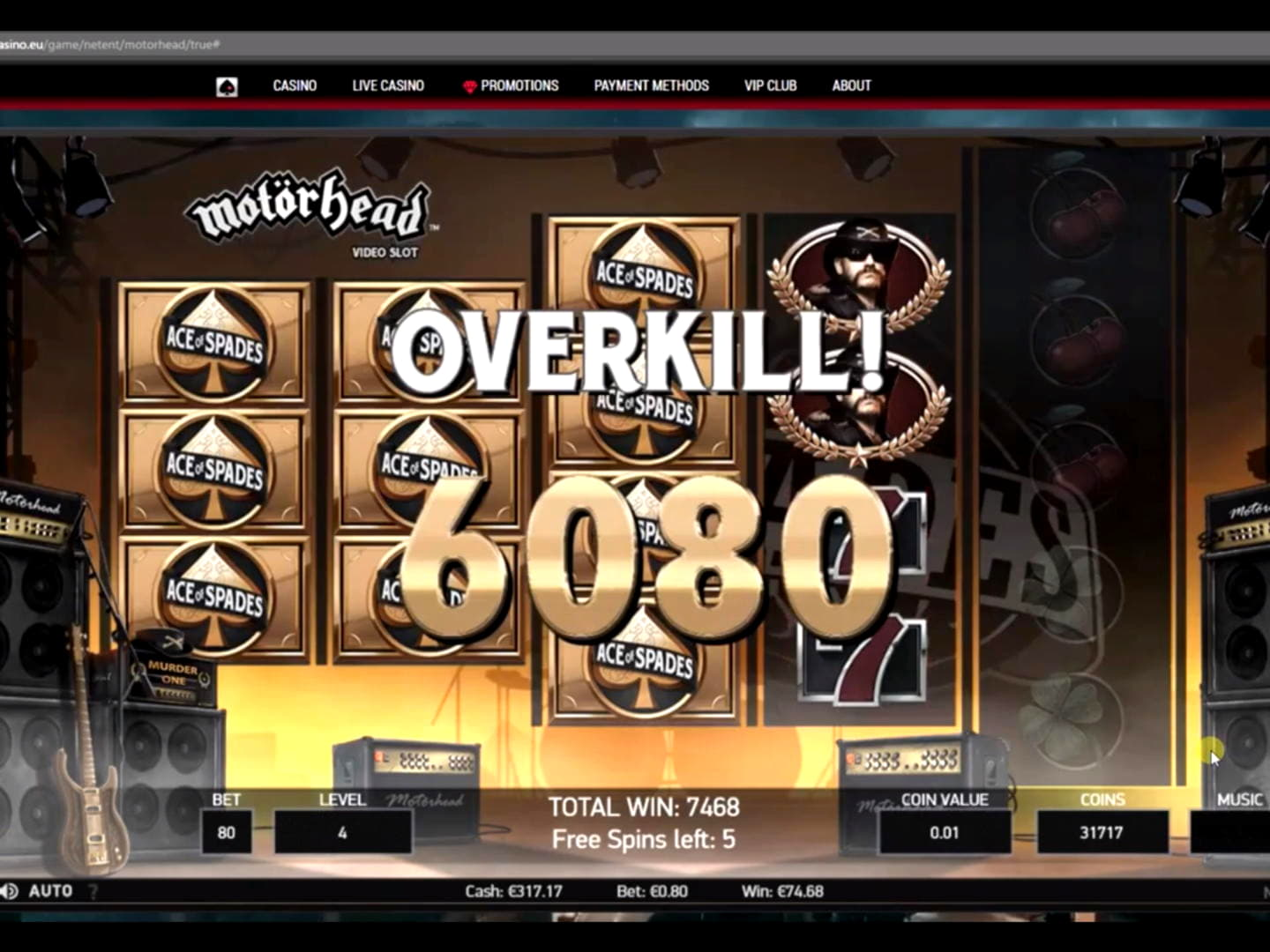 €775 Online Casino Tournament at Superior Casino