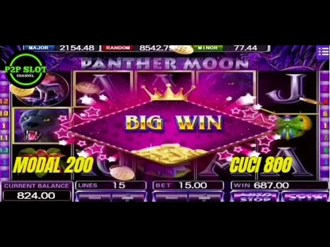 Mega888 Panther Moon | Tips Hari Ini | Modal 200