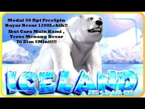 Iceland | 918 | MEGA888 | Cara modal 50 dpt 1200 dlm 5 Minit ! Free Spin Bayar Besar ICELAND !
